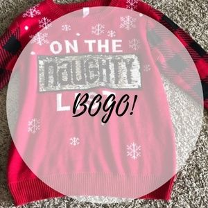 Sweaters - On the Naughty / Nice List Sweater